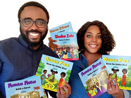 Kunda Kids book series Ex Why Zed