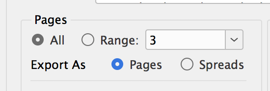 Export as single pages not spreads